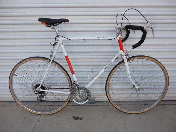Vintage Raleigh Record Road Bike 63cm X-Large - $225 (Ridgecrest)