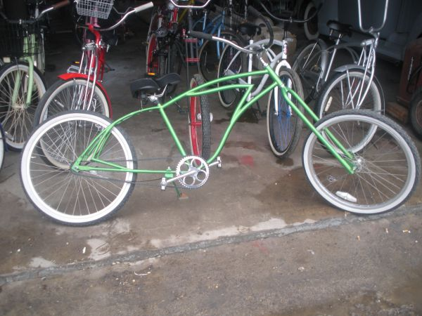 Custom beach cruiser - $500 (rosedale)