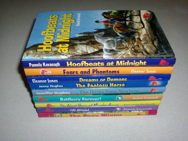 Young Adult Horse Chapter Books - $10 (BakersfieldLake Isabella)