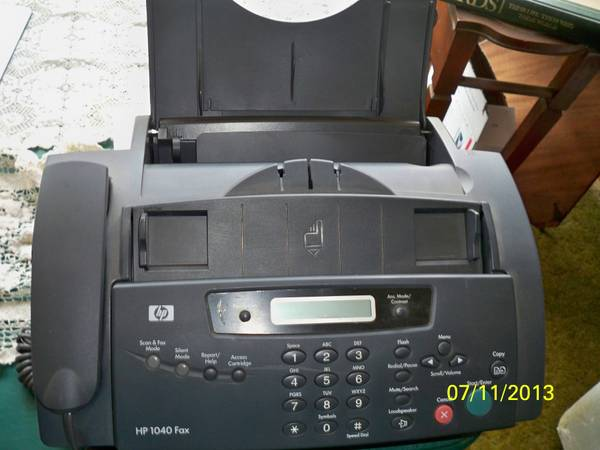 HP 1040 FAX - $25 (LAKE ISABELLA.)