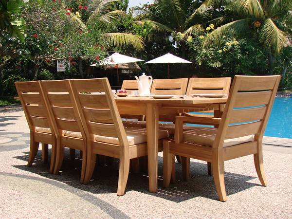New Golden TEAK Outdoor Furniture (Bakersfield)