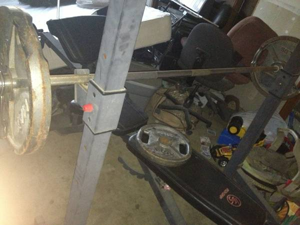 WEIGHT BENCH IRON GRIP OLYMPIC  - $150 (GOSFORD AND WHITELANE)