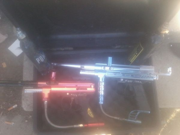 2 spyder paint ball guns - $200 (bakersfield)