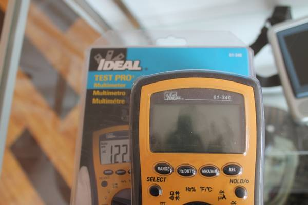 Ideal Test Pro Multimeter 61-340 - $30 (2305 Chester Ave. Bakersfield Ca 93301)