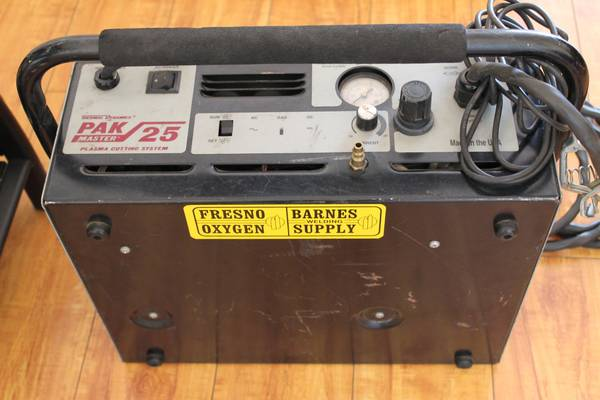 Thermal Dynamics, PakMaster 25 Plasma cutting system  - $300 (2305 Chester Ave. Bakersfield CA 93301)