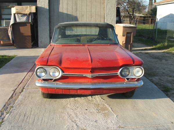 Wanted-1964 Corvair parts - $1 (Bakersfield)