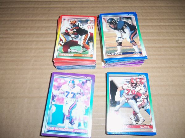 Baseball Football Nascar Cards - $10 (SW Bakersfield)