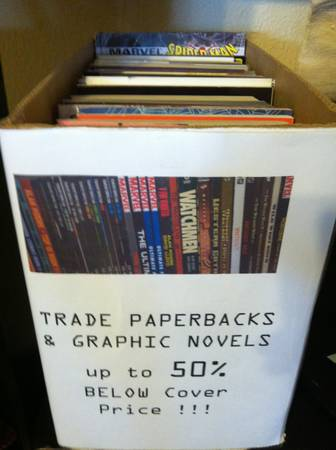 Graphic Novels, TPB, DC  Marvel Hardcovers up to 50 off Cover Price (805 19th St. (2nd Floor))