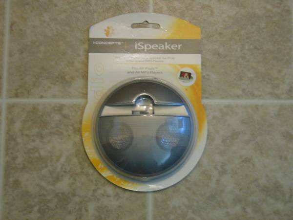 BRAND NEW Portable Speakers for IPod and IPhone  - $2