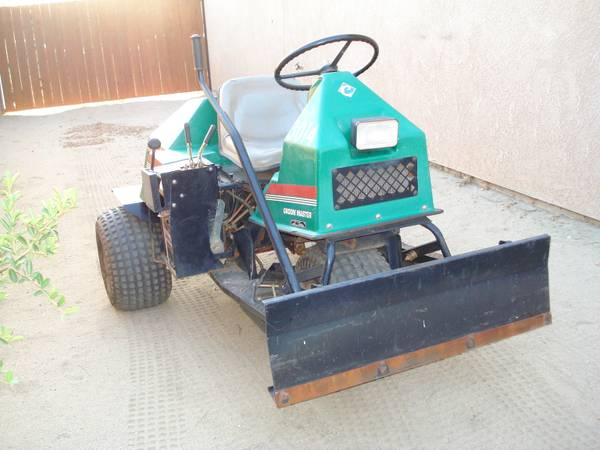 GROOM MASTER SAND TRAP INFIELD RAKEBUNKER RAKE  - $2500 (PALM SPRINGS AREA)