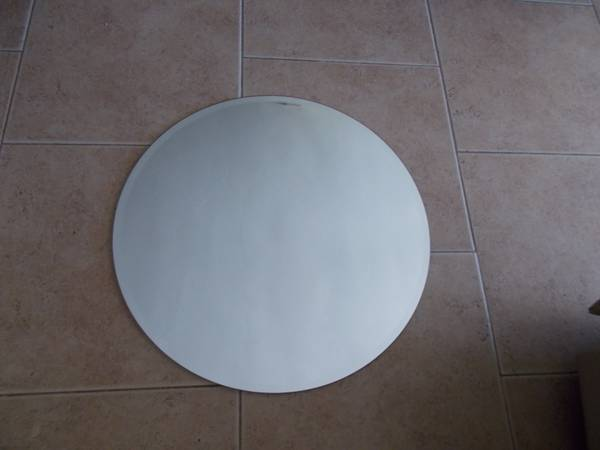 IKEA ROUND MIRROR 23 12 INCHES DIAMETER   NEW-------------- - $20 (ROSEDALE)