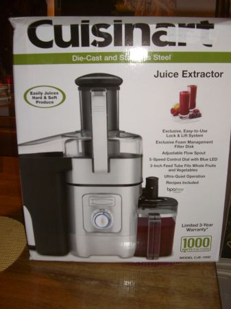 CUSINEART JUICER CJ1000-BRANDNEW IN BOX - $100 (TEHACHAPI)