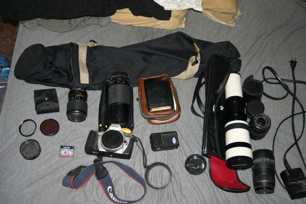 Misc. Camera Equipment- SUPER CHEAP - $150 (South West)