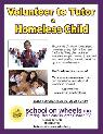 MAKE  A  DIFFERENCE IN  THE LIFE OF A HOMELESS CHILD      SOUTH L A