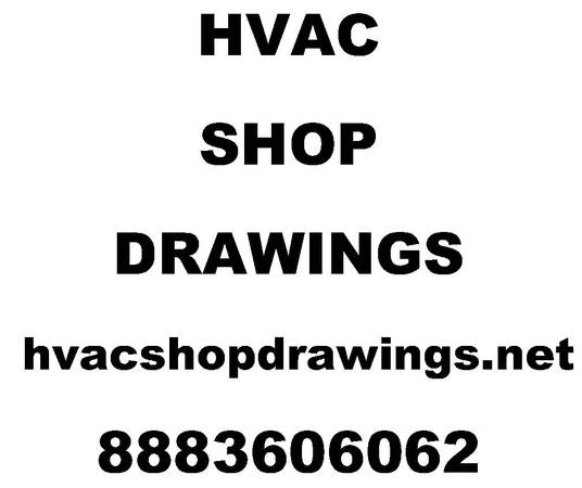 hvac shop drawings for sale