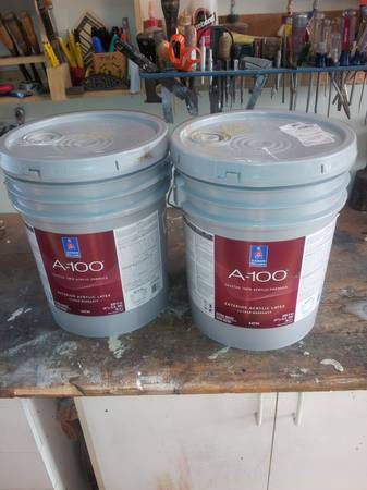 Sherwin Williams A100 Paint, Two - 5 gal. Buckets - $150 (Meridian)