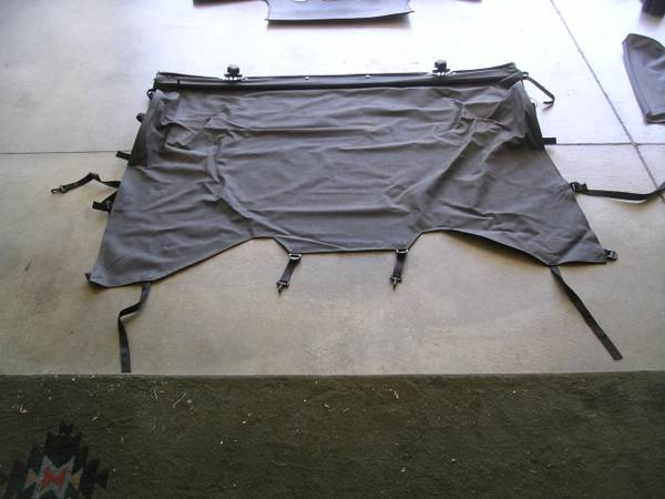 07-12 wrangler JK 2door bikini top with extras - $200 (boise)