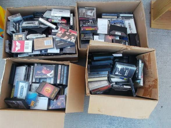 Rock N RollLot of More than 300 Collectible Cassette Tapes 80s and 90s - $30 (Boise, Idaho)