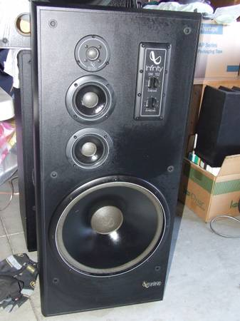 Infinity Tower Speakers - Wicked Good - $200 (NW BOISE)