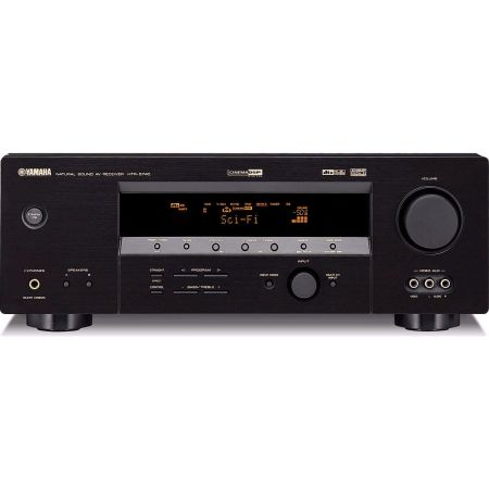 YAMAHA Mint HTR-5740  6.1 Receiver With Remote (Black) - $139 (Lehi, Utah)