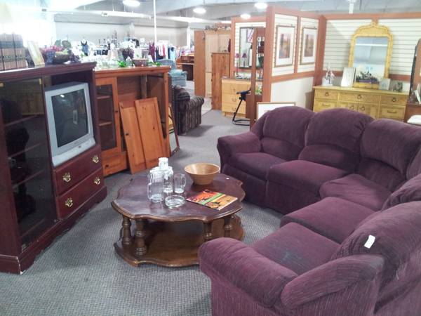 Valley treasures thrift store for sale for Whole living room furniture sets