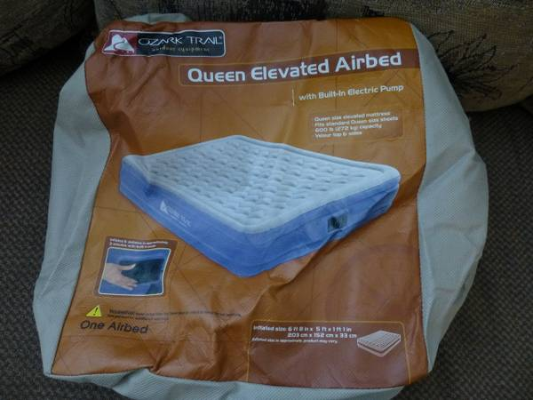 Ozark Trail Queen Air Bed Espotted