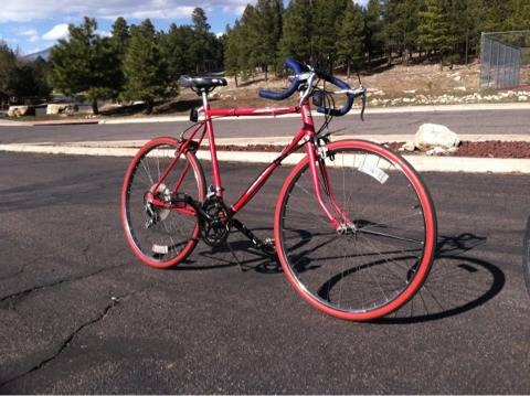 Two awesome vintage road bikes 10spd womens schwinn and huffy - $150 (Flagstaff)