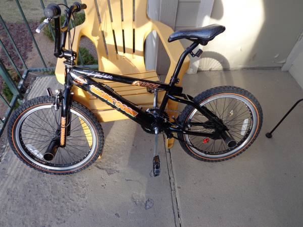 BMX Tim FUZZY Hall Bike - $80 (Flagstaff)