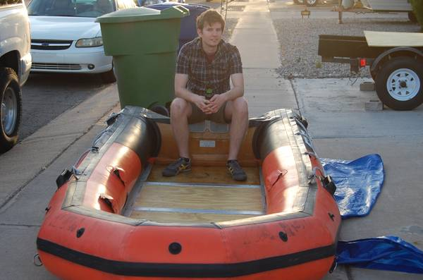 Reduced  InFlaTable Boat 12 6 Zodiac Style - $950 (Tucson)