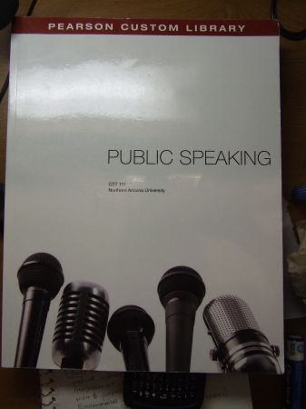 CST 111 Public Speaking (NAU Pearson Custom) - $55 (Flagstaff)