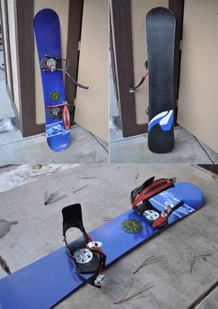 Mens Snowboard Package - K2, Technine, ThirtyTwo, Boots Size 10.5 - $250 (West Flagstaff)