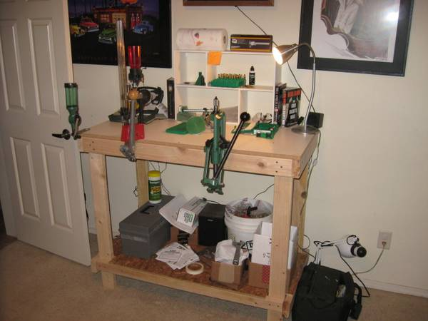 Bunch of Reloading supplies Complete setup, two presses - $1000 (West Flagstaff)