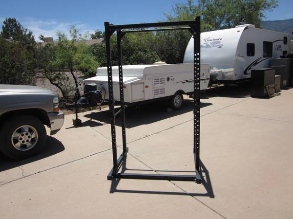 Parabody Serious Steel Power Cage Squat Rack - $350 (Cottonwood, AZ)