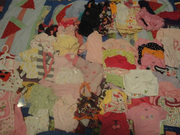 Tons of little girl clothes NB - 9months (Williams, Az)