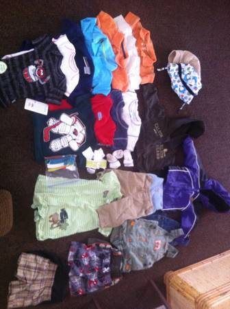 28 LOT OF 12 MONTH BOY CLOTHES (WILL PIECE OUT) - $45 (FLAGSTAFF)