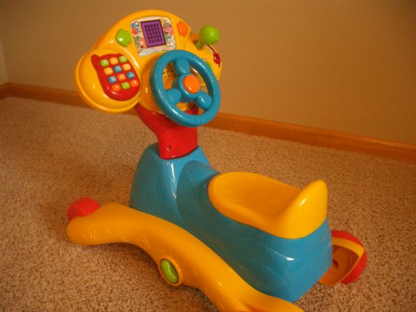 VTech 3-in-1 Smart Wheels - $15 (Flagstaff)