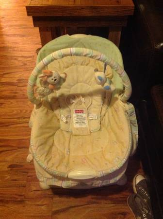 Fisher price soothing motions glider - $65 (West flag)