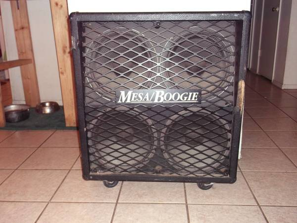 Mesa Boogie 4x12 Speaker cabinet w Black Shadow speakers - $300 (Paseo del Flag and Lonetree)