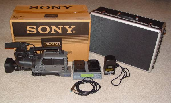 Professional Sony DSR-250 DVCAM Camcorder - EXCELLENT Condition - $950 (Avondale)