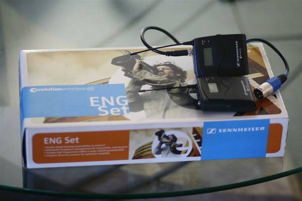 Sennheiser ew112 ew100 g3 lavalier microphone kit - $550 (Flagstaff, west side)