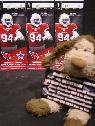3 GREAT FRONT ROW Arizona Cardinals Tickets Single Game   Whole Season -  110  Section 417 Row 1 FRONT ROW