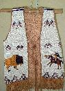 INDIAN FULLY BEADED VEST -  4500