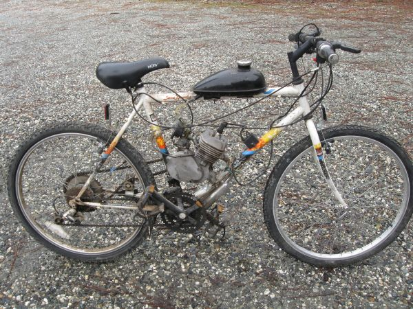 80cc motorized Bicycle - $250 (Grass Valey NC)