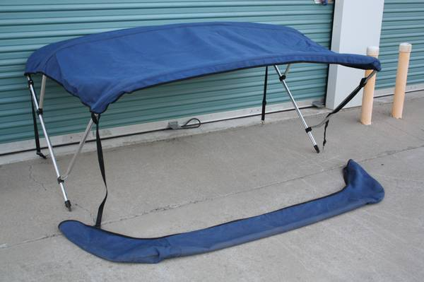 BIMINI TOP FOR BOAT SUNBRELLA SHADE SKI JET - $200 (COPPEROPOLIS)