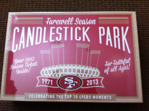 JUST LOWERED PRICES - SF 49ers - 6 Lower Tickets to ALL HOME GAMES - $1 (santa rosa)