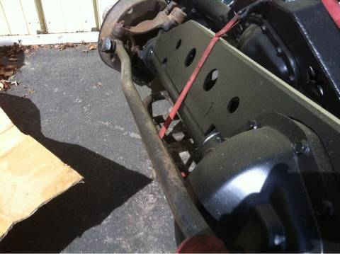 Trussed ford high pinion Dana 60 - $1500 (Near Auburn)