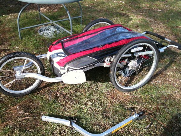 Chariot (cougar) stroller bike trailer - $550 (Nevada City)