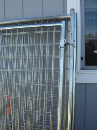 AKC dog kennel all welded 9 gage HD wire panels - $400 (Georgetown Ca)