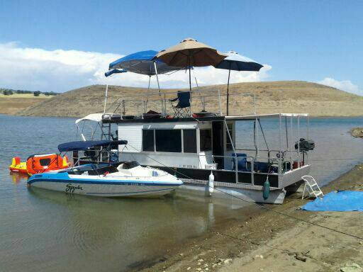 Patio cruiser houseboat for sale for Houseboats for rent in california