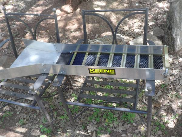 how to build a gold mining sluice box